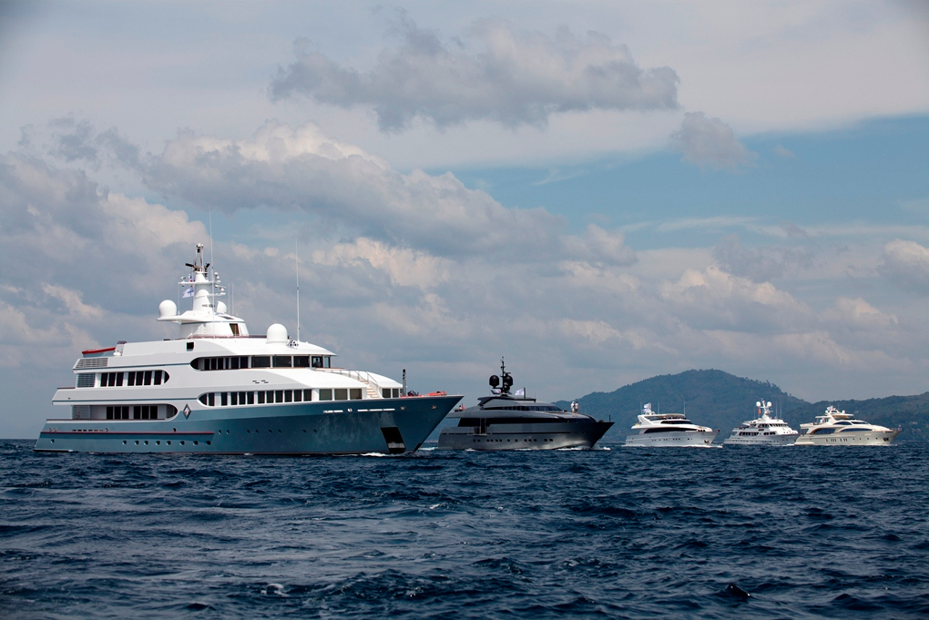Superyachts soon streaming to Asia Superyacht Rendezvous