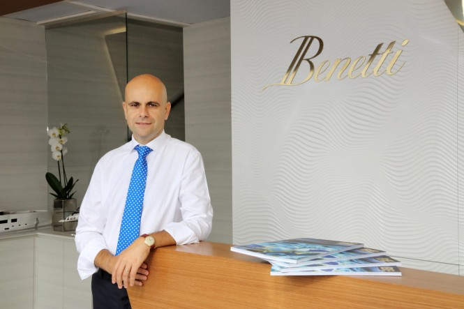 Interview with Benetti Chief Commercial Officer Fabio Ermetto