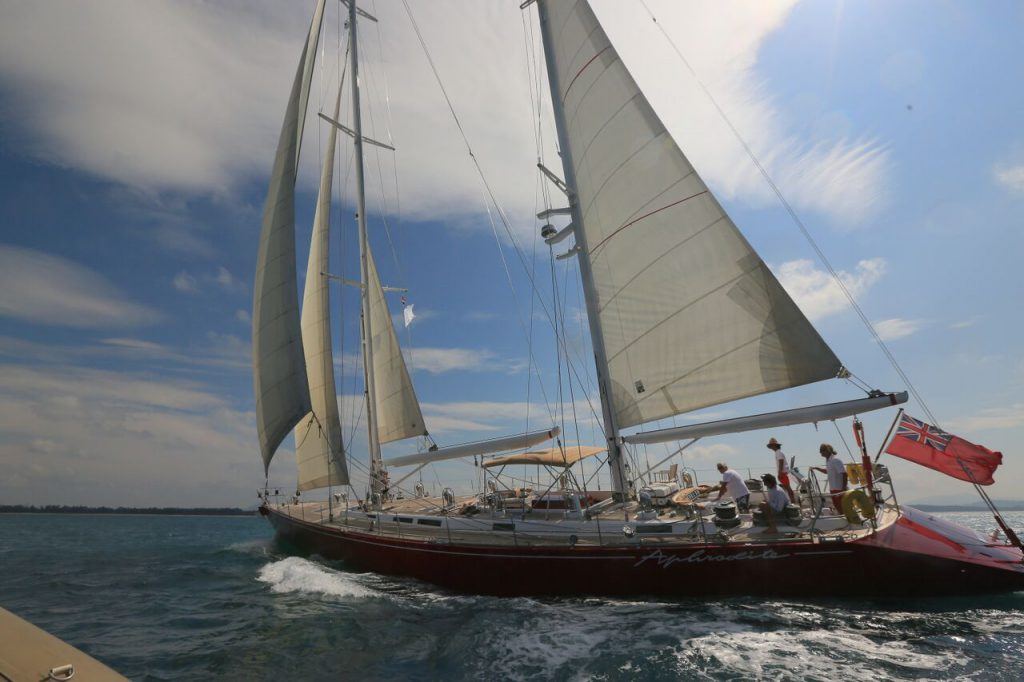 Sailing superyachts signing on for ASR Winner's Cup!